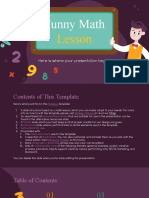 Funny Math Lesson by Slidesgo