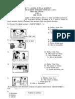 2011 ENGLISH PAPER 1 (YEAR 2) PKSR 1