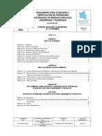 REGLAMENTO DE REGISTRO DE OPERADORES COCHABAMBA