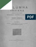 Teohari Antonescu - Columna Traiana - Studiata Din Punct de Vedere Archeologic Geografic Si Artistic