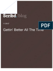 Gettin' Better All The Time, Scribd Blog, 11.29.07