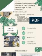 Dos Lados de La Misma Moneda - El Consumo de Carne Silvestre y El Comercio Ilegal de Vida Silvestre en La Encrucijada de Asia (1)