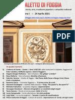 Il Dialetto Di Foggia N. 16 Del 24-04-2021