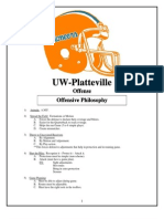 2003 Univ. of Wis-Platteville Offense - 141 pages