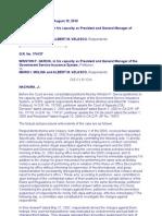 administrative due process jurisprudence