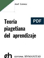 GOMEZ,G.R (1978)Teoría Piagetiana del Aprend. Cap. I-II