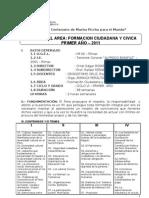 SYLABUS FORMACION CIUDADANA Y CIVICA 2011