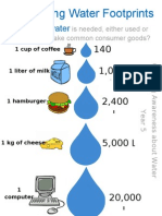 Calculating Water Footprints