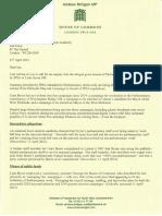 Liam Byrne IPSA Complaint