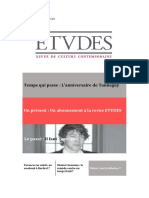 Abonnement revue ETVDES