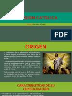 Evolución de La Religión Católicaa