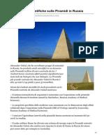 altrogiornale.org-Le ricerche scientifiche sulle Piramidi in Russia