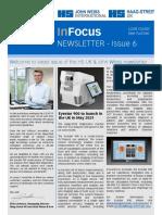 HS-UK & John Weiss Newsletter - Issue 6