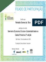 Seminário Economia Circular e Sustentabilidade na Cadeia Produtiva