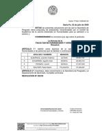 Admitidos - Doctorado en Humanidades - 202-20