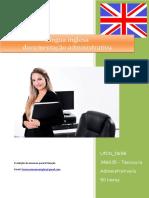 UFCD 0658 Lingua Inglesa Documentação Administrativa Índice
