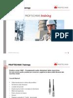 Presentazione formazione Pruftechnik