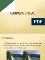 exposicion de Agudeza visual
