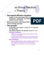 Two-Group-Neutron-Diffusion