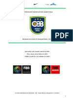 Regras Oficiais Basketball 2018 - CBB Vander Lobosco Jr. revisão outubro 2019