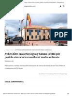ATENCIÓN_ En alerta Cogua y Sabana Centro por posible atentado irreversible al medio ambiente - Extrategia Medios