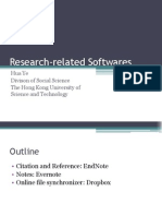 Research Related Softwares