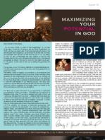 Grace & Glory August 2008 Newsletter