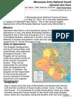 MN National Guard Deployment
