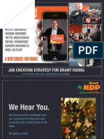 Job Creation Strategy for Brant Riding