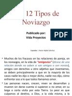 Los 12 Tipos de Noviazgo