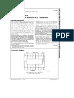 74185 (converson 6 bits a BCD)
