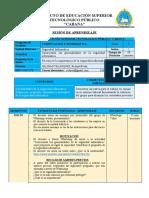 SESION  DE APRENDIZAJE - SI 1
