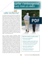How neighbourhood gentrification affects older adults (French version)