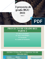 El Proyecto de Grado BGU 2021 Parte 2