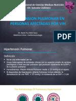 Hipertension pulmonar in HIV