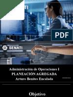 Sesión 9- Administración de Operaciones I