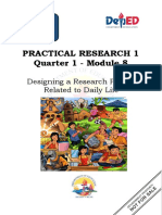 Applied_Practical Research1_Q1_M8-Designing a Research Project Related to Daily Life