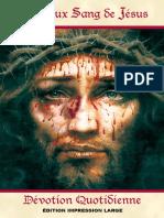 Dévotion au Sang Précieux de Jésus