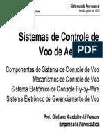 03R - Sistemas de Controle de Voo
