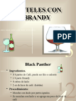 COCTELES CON BRANDY AND CAFES
