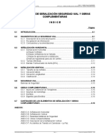 Indice Diseño de Señalizacion