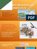 Sensores remotos en la Hidrologia - Grupo 5