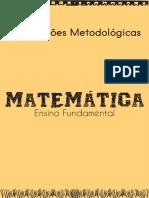 Caderno de Orientações Metodológicas - Ensino Fundamental - Matemática