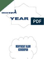year 5 - mind map-bm