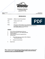 Jefferson County Planning Board agenda April 27, 2021