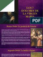 LOS 7 DOLORES DE LA VIRGEN MARIA