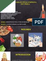 Presentacion Power Point Net Pizza