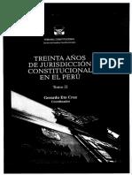 Jurisdicción Constitucional en el Perú - 30 años de Jurisdicción