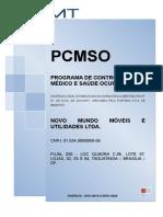 Filial 030 - PCMSO Base - Diretrizes da NR 07 - eSocial