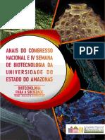 Anais_Congresso_Nacional_IV_Semana_de_Biotecnologia_UEA 2019 Versão Final